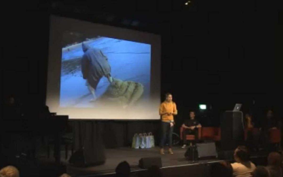 Giulia Enders beim WDR 5 Science Slam